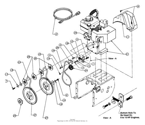mtd    parts diagram  engine   belts