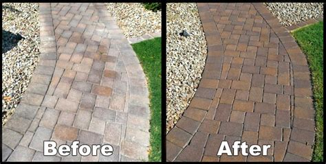 Painting Patio Pavers Jacksonville Paver Sealing Services Klean