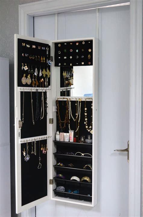 armoire à bijoux meubles rangement bijoux