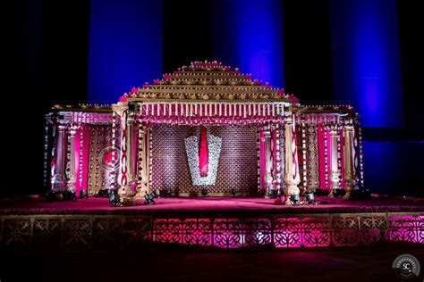 South Indian Wedding decor   Suman Chakri Photography