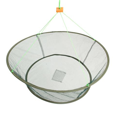 zanlure foldable fishing net prawn bait minnow crab shrimp
