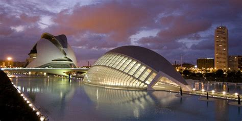 the city of arts and sciences by santiago calatrava and felix candela city of arts and sciences santiago calatrava arch2o com