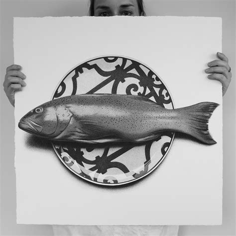 artist cj hendry draws  photorealistic foods   days