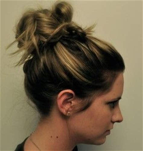 scruffy hair bun the scruffy bun hairstyle beautiful updos hairstyles