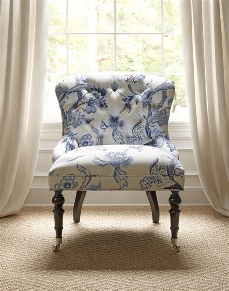middleton chair  shrewsbury blue white thibaut thibaut fine furniture   pinterest