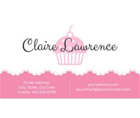 free cupcake template for s card 1000 images about printable business cards on