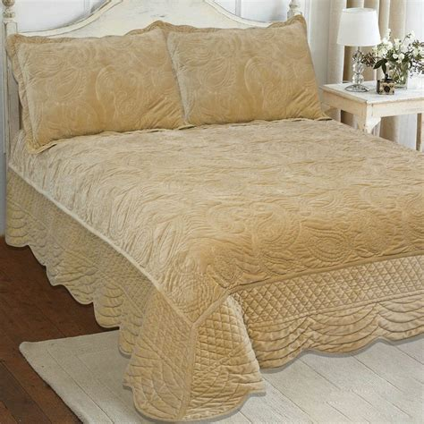 Quilted Bedspreads Sale Honey Velvet From Our Bedspreads Throws Quilted