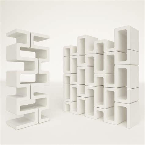 libreria verticale libreria verticale sisma modulare in adamantx bianco 35 x