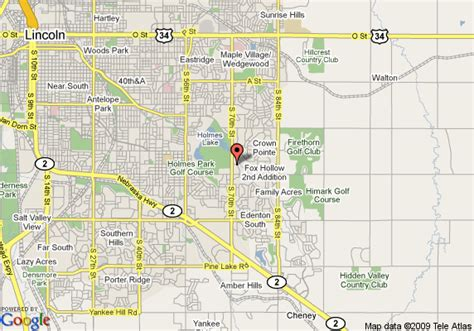 directions to lincoln ne map of candlewood suites lincoln lincoln