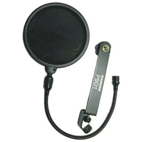 Samson Ps01 Pop Filter samson ps01 microphone pop filter black buy in