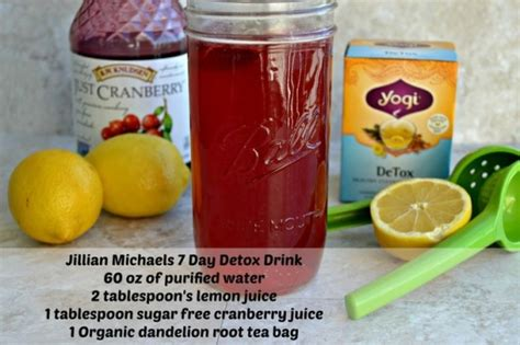 Will Detox Tea Make You by How To Make The Jillian 7 Day Detox Drink This