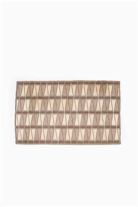 mid century geometric patterns mid century swedish carpet with geometric pattern for sale