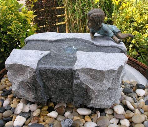 quellstein garten kaufen wasserspiel set quellstein mofang 55 40 h30 granit