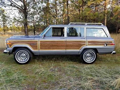 1989 jeep wagoneer for sale 1989 jeep grand wagoneer for sale classiccars com cc
