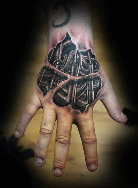 skeleton hand tattoos most stunning tattoos