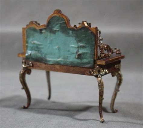 Antique Doll Furniture by Antique Doll Dollhouse Furniture Desk Chair