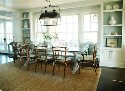 dining room built ins cottage dining room morrison shingle beach cottage with coastal interiors home bunch