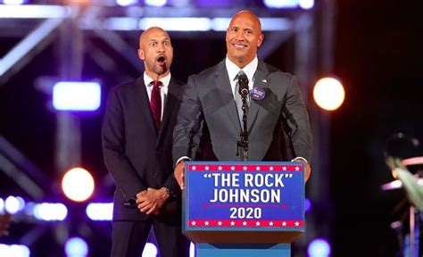 rock the boat 2020 the rock leading donald trump in 2020 election polls