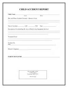 Incident Report Sle Letter In School 100 Childcare Contract Template 100 Childcare Cover