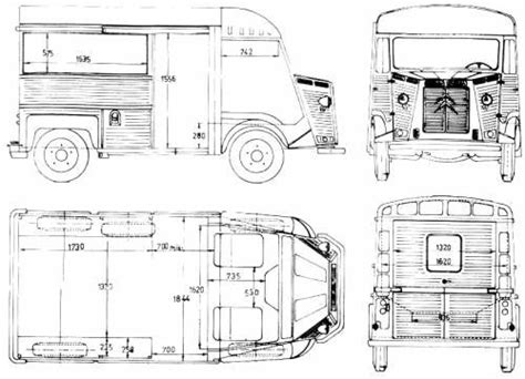 H Drawing Size by Citroen Hy Interior Fit Out Dimensions Cars
