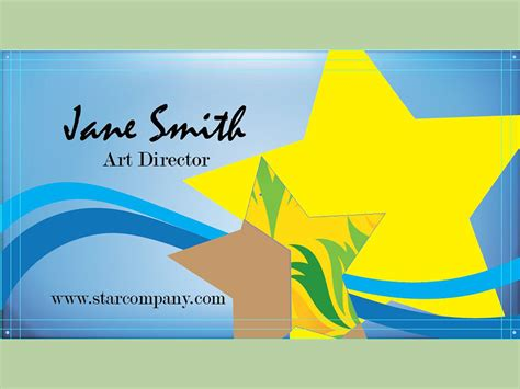 how to make business cards on illustrator how to make a business card on adobe illustrator 10 steps