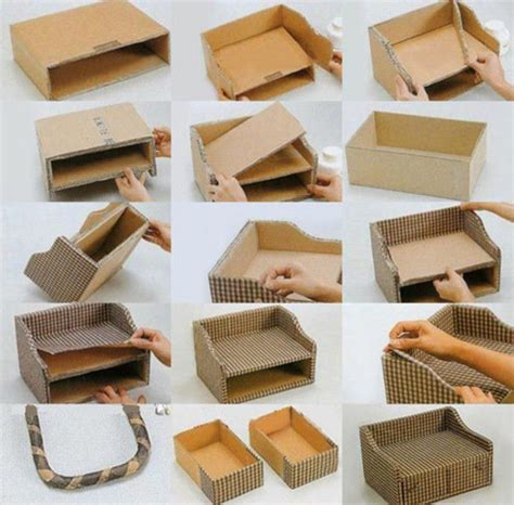 Cardboard Paper Craft - best 20 cardboard box storage ideas on