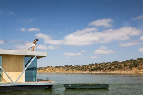 floatwing modular floating house by portugal s friday modular prefabricated floating house by friday