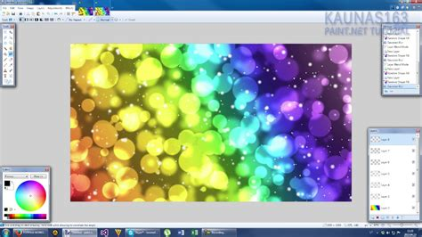 paint net remove background paint net tutorial number 182 abstract colourful bubbles