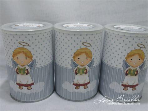 dulceros con latas de leche de frutillas latas de leche decoradas