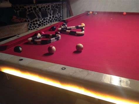 Marble Pool Table by Cake Dining Billiards