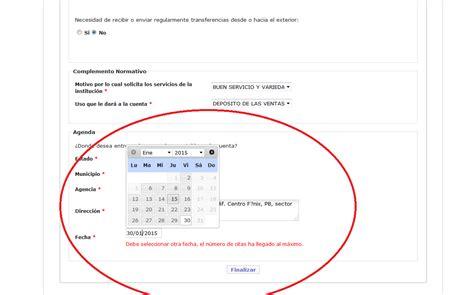 comprobante de la solicitud preapertura cuenta banco apexwallpapers reimprimir comprobante de cita para apertura de cuenta