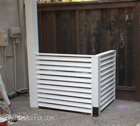 Ac Outdoor 11 diy ac unit covers that are easy to make shelterness