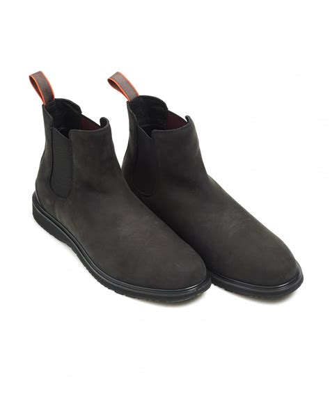 swims mens barry chelsea boot classic black suede boots