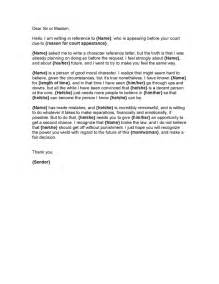 Reference Letter For Court Template by Doc 650841 Character Reference Letter For Court