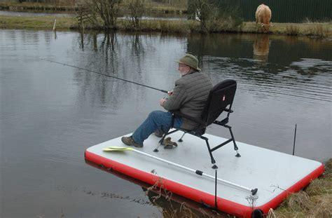 inflatable pontoon work boat bison marine inflatable dock swim work fishing platform