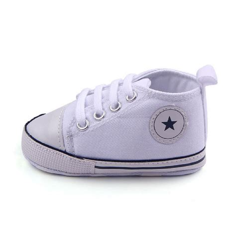 Baby Crib Sneakers Soft Sole Crib Shoes Infant Toddler Baby Boy Sneaker Newborn To 12 Months Ebay