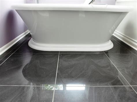 diy bathroom floor ideas featured in bath crashers episode blinged out bath crashers now find