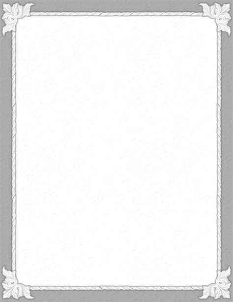 border paper template 7 best images of free printable stationery borders