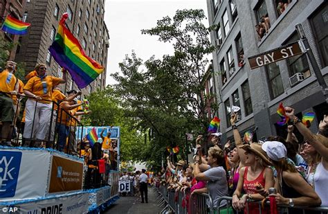 gay section of nyc edith windsor pride gay marriage pioneer takes part in
