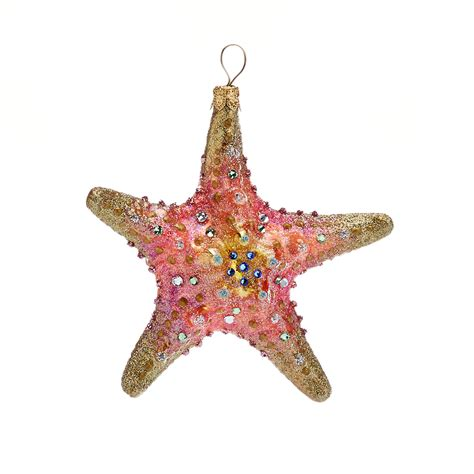 gifts from the sea swarovski starfish christmas ornament