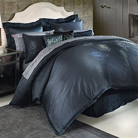 nicole miller 174 feathers comforter set bed bath beyond