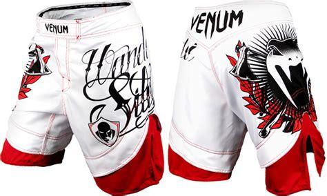 Venum Wand Fightshorts White venum wanderlei quot the axe murderer quot silva fight shorts