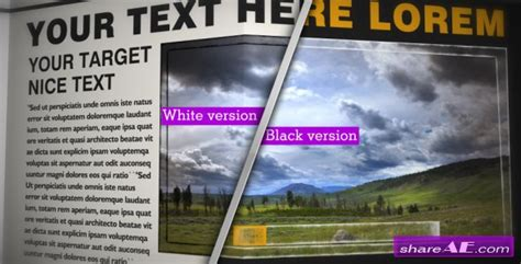 newspaper template for after effects videohive newspaper black white cs4 187 free after effects