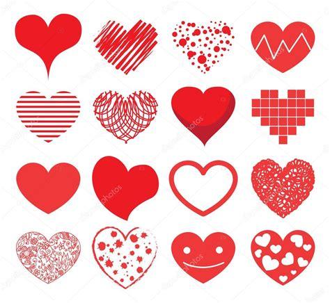 imagenes de corazones decepcionados dibujos animados de corazones rom 225 nticos vector de stock