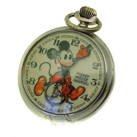 1936 mickey mouse bearded ingersoll pocket ebay