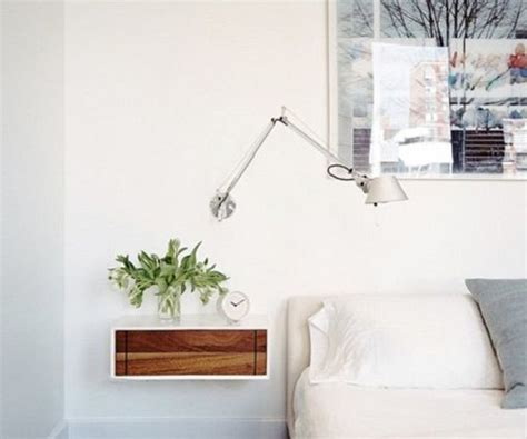 mesita de noche de pared mesitas de noche flotantes para decorar dormitorios mini