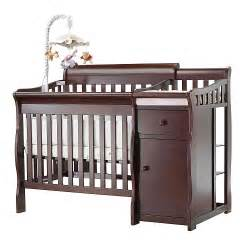 sorelle mini crib sorelle camden mini crib changer cherry 120 free