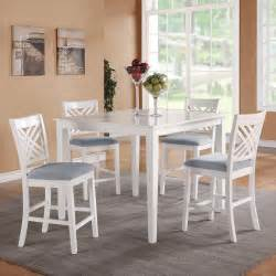Counter Height Dining Table White Standard Furniture 5 Counter Height Dining