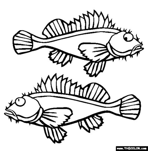 monster fish coloring pages monster fish how to draw coloring pages poisonous