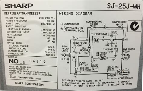 bpl refrigerator wiring diagram images diagram sle